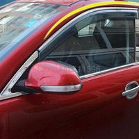 For Nissan Qashqai 2014 2015 Window Wind Deflector Visor Rain Sun Guard Vent Window Visor Guard