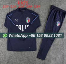 46984337e60 AAA Top kids 2018 World Cup national team football jersey 18 19 2 star ITALY  training