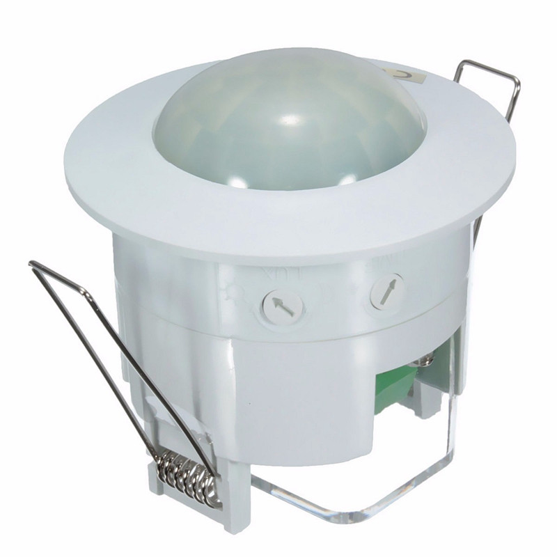 Saving-energy 360 Degree Mini Recessed PIR Ceiling Occupancy Motion Sensor Detector Switch AC220V-240V 50Hz Home Tool Light