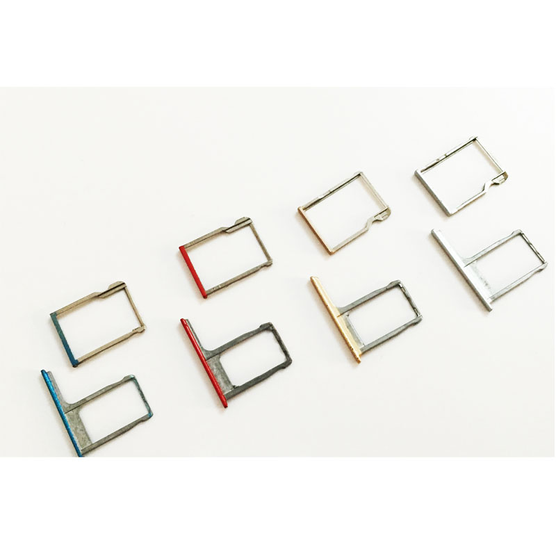 10 Pcs/lot, SIM Holder Slot Adapter For HTC one M8 SIM tray SIM reader socket module Repair Parts New Original