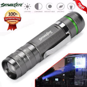 2017 NEW 3000LM Zoomable CREE XM-L T6 LED 18650 Flashlight Torch Super Bright Light S98
