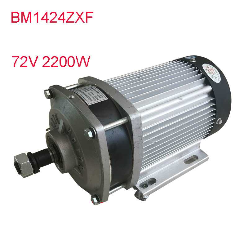 72V <font><b>60V</b></font> <font><b>1500W</b></font> 2200W BM1412ZXF Electric Tricycle Modified Parts Brushless DC <font><b>Motor</b></font> For Motorcycle ebike Wheelbarrow Parts image