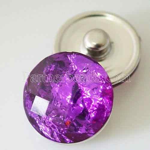 18mm acrylique boutons pression boucle pour bricolage boutons pression bracelets pour femme hommes ajustement gingembre boutons pression bijoux KB2228