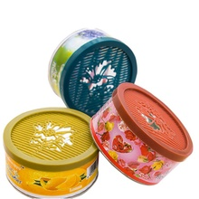 70g Solid Indoor Car Home Solid Deodorizing Scent Air Freshener Fragrance For Homes 4 various flavors Car Auto Decor