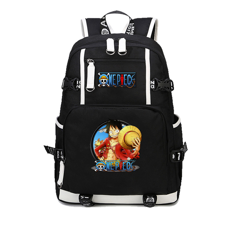 Japan anime One Piece Luffy backpack Cartoon casual backpack teenagers Men womens Student School Bags Female Male backpackJapan anime One Piece Luffy backpack Cartoon casual backpack teenagers Men womens Student School Bags Female Male backpack