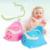 Orinal Asiento Del Inodoro Orinal bebé Girls Boy Cómodo Lindo Cajón Potty Potty Training Niños de Dibujos Animados Bebé Infantil Simple A Prueba de Fugas