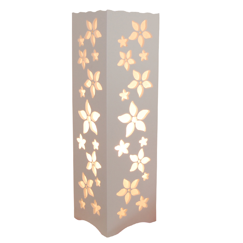 Led Table Lamps Abstract Design Through-cared Bedroom Bedside Table Decoration Abajur Strengthening Waist And Sinews Diligent Minimalist Ivory White Wood Plastic Plate Led Table Lamp Led Lamps