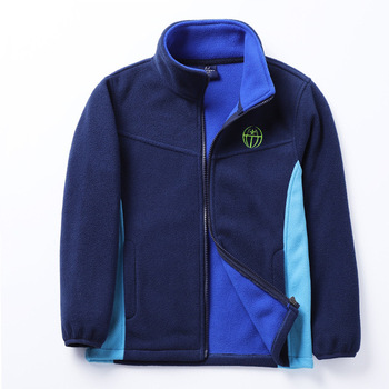 New 2019 spring autumn children kids jackets hoodies big boys girls polar fleece hoodies sweatshirts thick warm soft 1