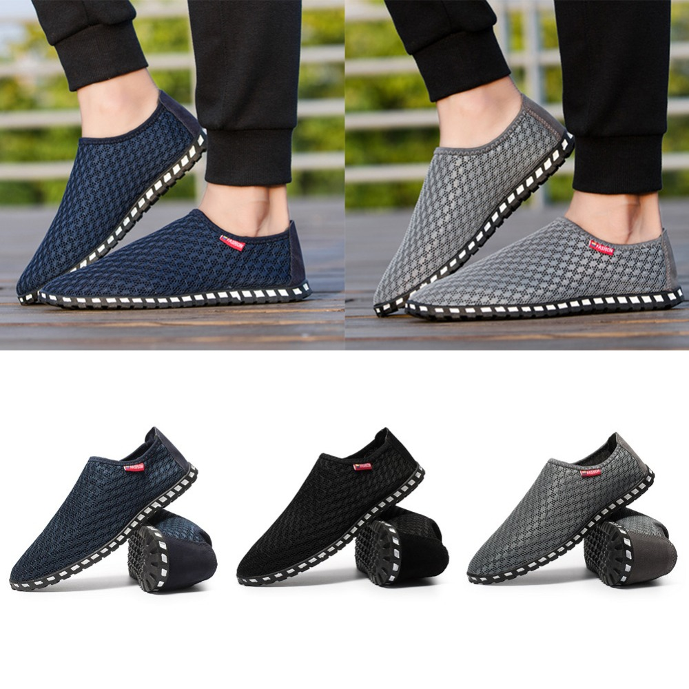 Yards290263 Absorbant Mode 45 Lumière Chaussures Hommes Sueur 38 Respirant De Noir Casual gris Couleur Pure Net bleu HEDI29W