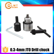 Micro Motor Drill Chucks Clamping 0.3-4mm Jt0 Taper Mounted Drill Chuck With Chuck Key 3.17mm 2.3mm 4mm 5mm 6mm 8mm mini universal 0 3 3 5mm 3 17mm micro electronic drill chuck tools sets m25