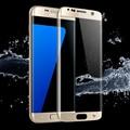 S7 край премиум золотой цвет защита экрана закаленное стекло для samsung galaxy претензий С 6 край G9250 протектор покрытие экрана