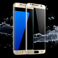 S7 edge premium color gold protection screen tempered glass for samsung galaxy claims S 6 edge G9250 protector screen coverage