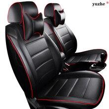 Leather car seat cover For Suzuki Swift Wagon GRAND VITARA Jimny Liana 2 Sedan Vitara sx4 BALENO IGNIZ car accessories styling