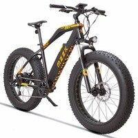 26 дюймов Электрический горный велосипед 48V13ah литиевая батарея 500 Вт Мотор электровелосипед с толстыми покрышками снег пляжный электровелос
