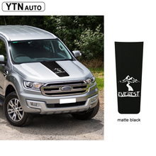 custom car decals 1PC hood scoop mountains graphic vinyl stripe protect accessories modified stickers for ford ranger