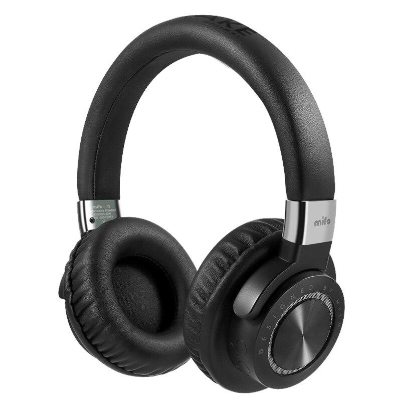 Mifo F2 Musique Écouteurs Bluetooth Stéréo Casque sans fil antibruit avec micro pour Iphone xiaomi Samsung Ordinateur