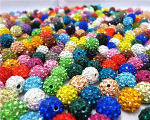Image 2 - 2000pcs DHL Free! 10mm 6Rows Top Best Quality Micro Crytstal Paved Bead For Jewerly Making