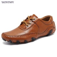 High Quality Men S Shoes Plus Big Size 45 46 47 Casual Leather Shoes For Man