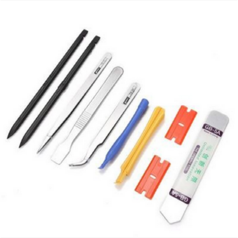 10 in 1 Mobile Phone Repair Opening Pry Tool Set High Quality Phone Tool Spudger Tweezer