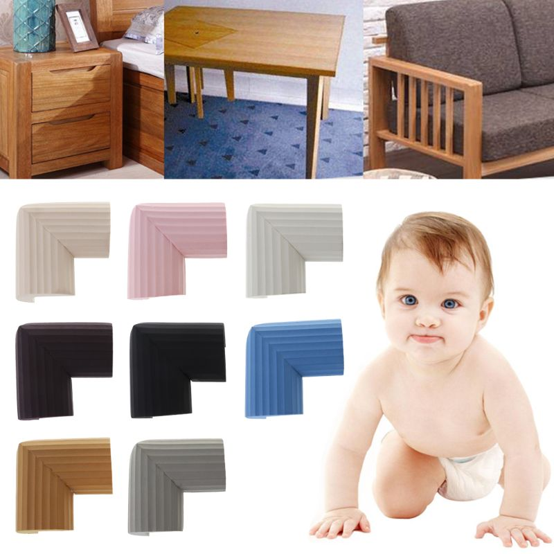 Safety Corner Baby Sponge NBR Edge Protection Infant Protector Children Desk Guards Table Cushion Furniture Soft Anti Collision