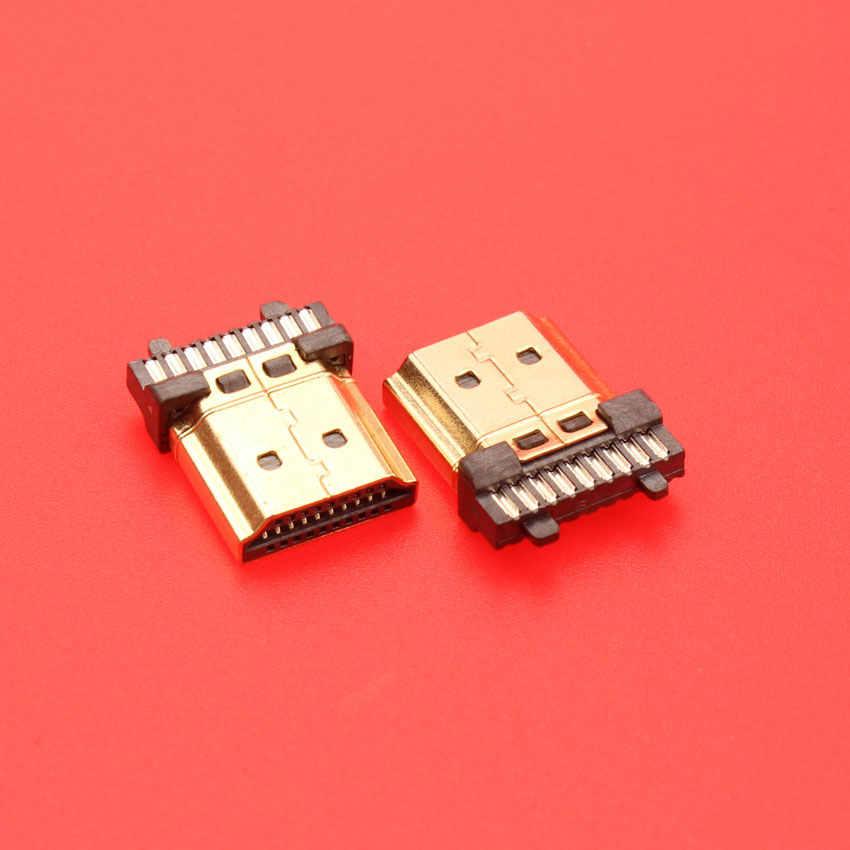 19 pin HDMI штекер разъем позолоченный HDMI Sockect ремонт замена пайки типа A