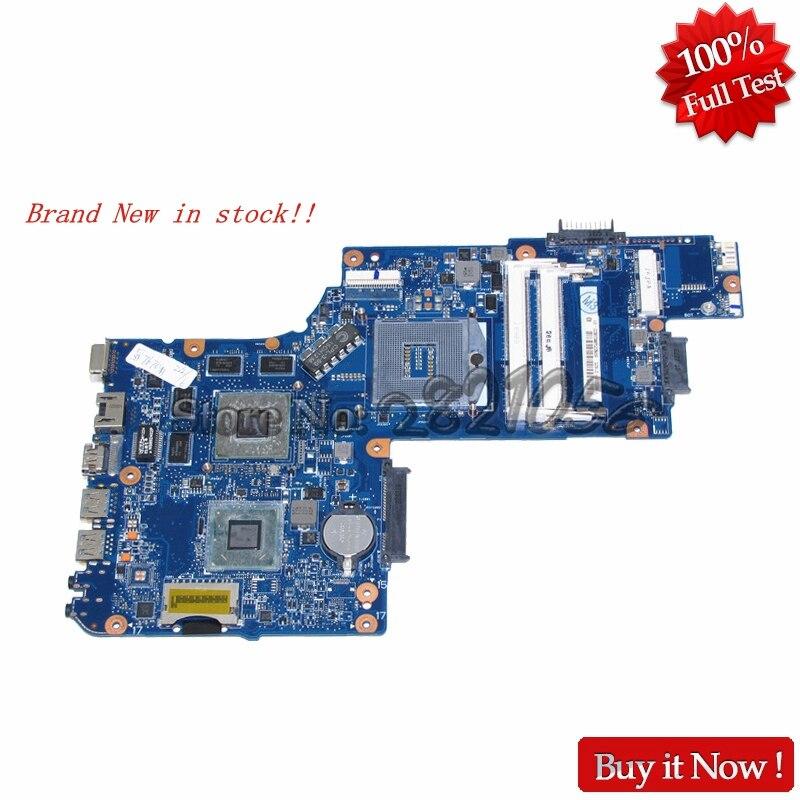 NOKOTION Marque Nouvel ordinateur portable carte mère pour Toshiba Satellite C850 L850 H000051550 Carte Mère HM76 DDR3 HD7670M