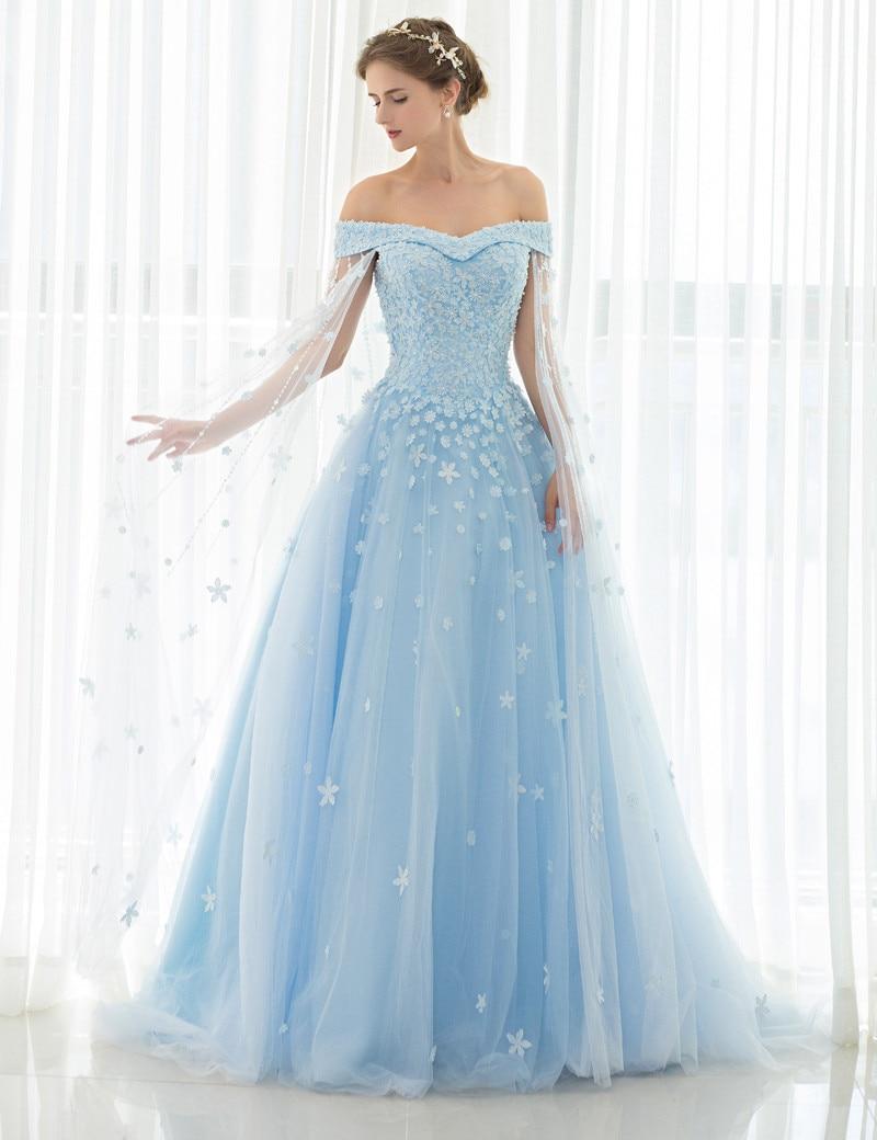 Light Blue Wedding Dress Promotion-Shop for Promotional Light Blue ...