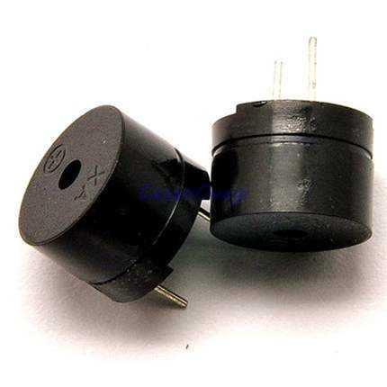 Универсальный пассивный зуммер, 10 шт./лот, 12805 переменного/2 кГц, 3 в, 5 В, 12 В, универсальное электромагнитное сопротивление, 16 Ом