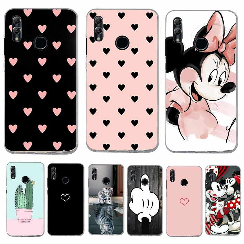 Cute 3D Luxury For Huawei P Smart 2019 Honor 10 Lite Case Silicone Soft Cover For Huawei Y5 Y6 Prime 2018 Honor 7A Cover Capa
