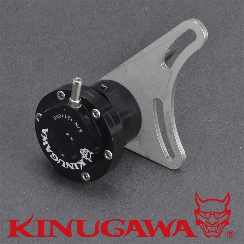 Kinugawa Adjustable Turbo Wastegate Actuator for Nissan RB20DET RB25DET Turbo w/ 3 Inlet 1.0 bar / 14.7 Psi