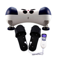 Neck Massager Electric Shoulder Back Massage Neck Foot Heated Cervical spine massage pillow Low frequency massage instrument