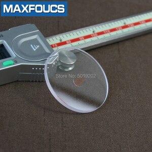 Image 3 - フラット2.5ミリメートル2.2/2.3/2.4ミリメートル直径20〜29.5ミリメートルサファイアガラス腕時計部品ラウンド透明クリスタルガラス時計修理のための