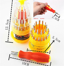 цена на Universal Screwdriver 31-in-1 Multifunction Magnetic Screwdriver Combination Tool Set