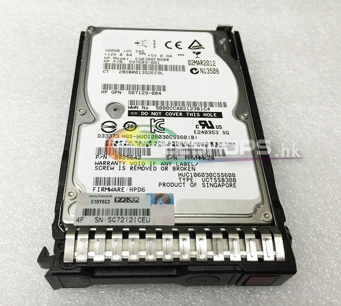 Offical New 300GB HDD 6G SAS 10K SFF 2.5 SAS Hard Drive for HP ProLiant Server BL460C BL660C BL480C DL560 DL580 G8 Gen8 Gen9 G9 sas festplatte 300gb 10k sas dp sff 492620r b21