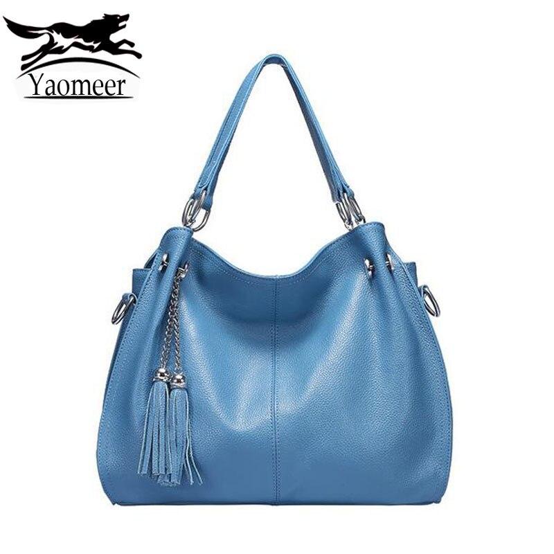 Luxury Brand 100% Real Genuine Leather Shoulder Bags Female Designer Handbags Fashion Ladies Soft Cow Crossbody Bag Tassel Totes велосипед format kids girl 16 2017