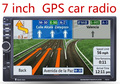 New universal Duplo Rádio Do Carro 2 Din Carro DVD Player GPS In dash Navigation PC Do Carro Unidade de Cabeça Estéreo subwoofer vídeo + Mapa Gratuito