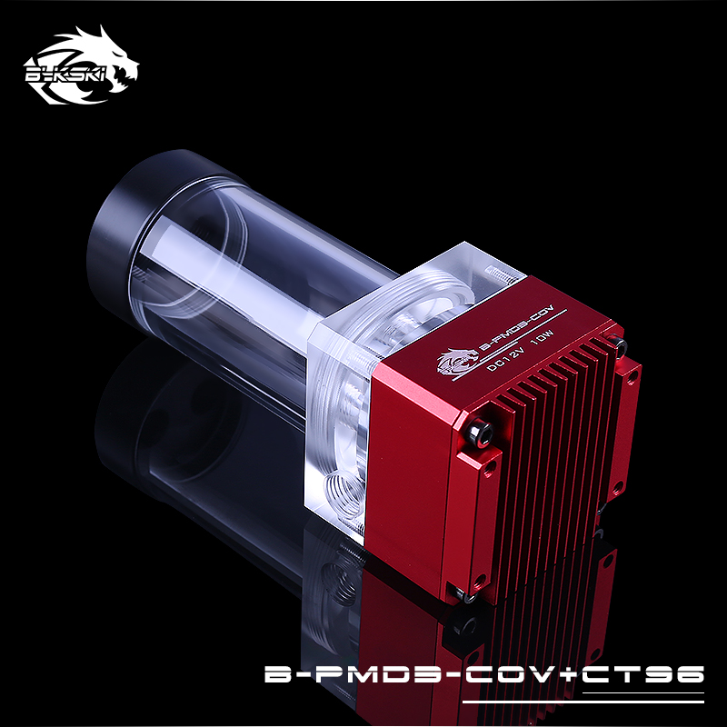 Black,Blue,Grey Original Bykski B-PMD3-COV+CT96 Water Cooling PC Cooler DDC Pump 6 Meters Qdistance 5000rpm 600L/H Flow Rate