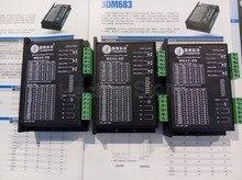 Бесплатно Оптовая 3 шт. много Нового Leadshine 2-фазный микрошаговый шагового привода M542-05 работа Напряжение 24-50 ток 1.2A-5.0A