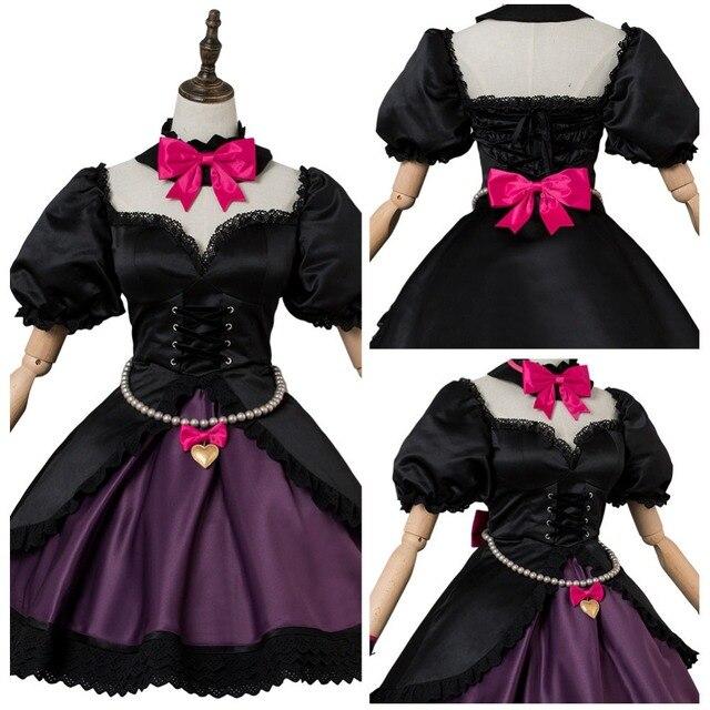 OW Game Cosplay Hana Song  DVA Cosplay Costume OW DVA Black Cat Officer Dress Cosplay Costume Halloween Carnival Cosplay Costum 1