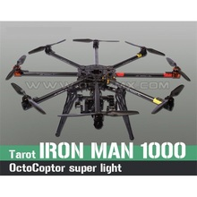 Tarot IRON MAN 1000 Octocoptor Frame Kit TL100B01 Ultralight