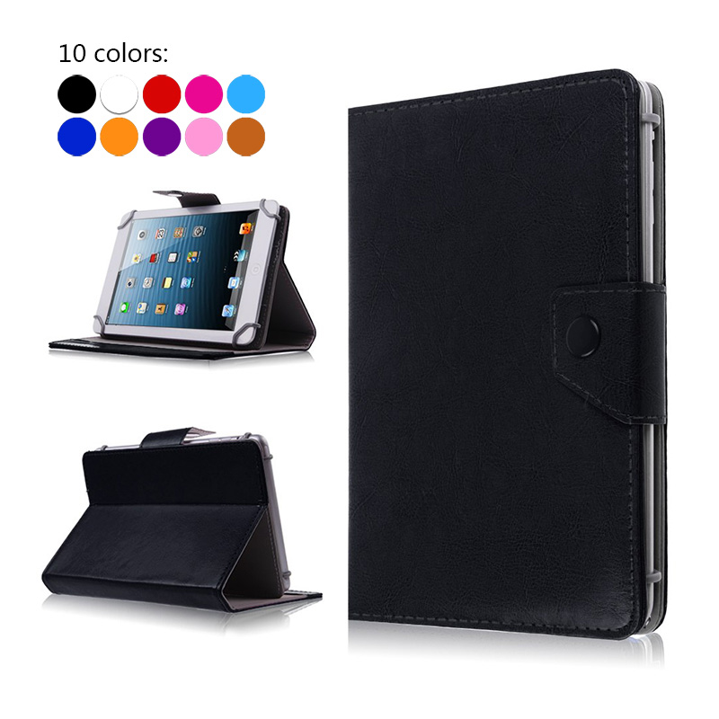 Cover Leather Case for Explay Tornado 3G/Leader/Fog 7 inch Universal Flip Book Style Stand For DNS AirTab PG7001 7 inch+3 gifts чехол flip case для explay polo черный