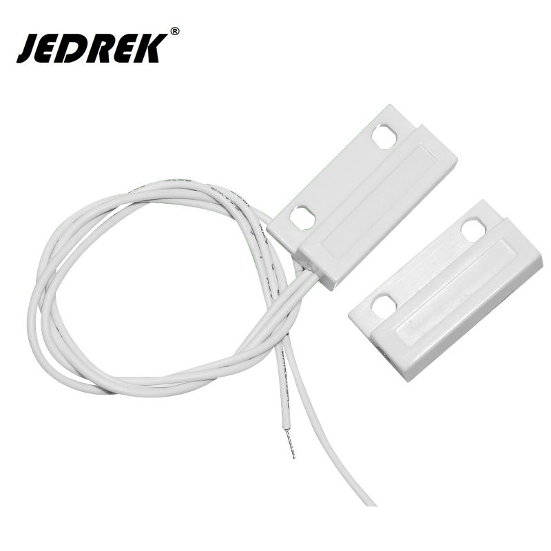 Alarm Security Magnetic Door Contact Reed Switch NC Door Sensor Switch For Alarm Access Control