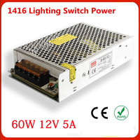 Manufacturers Selling Output 60W 12V 5A Switch Power S 60w 12v LED Drive Power Instrumentation DC