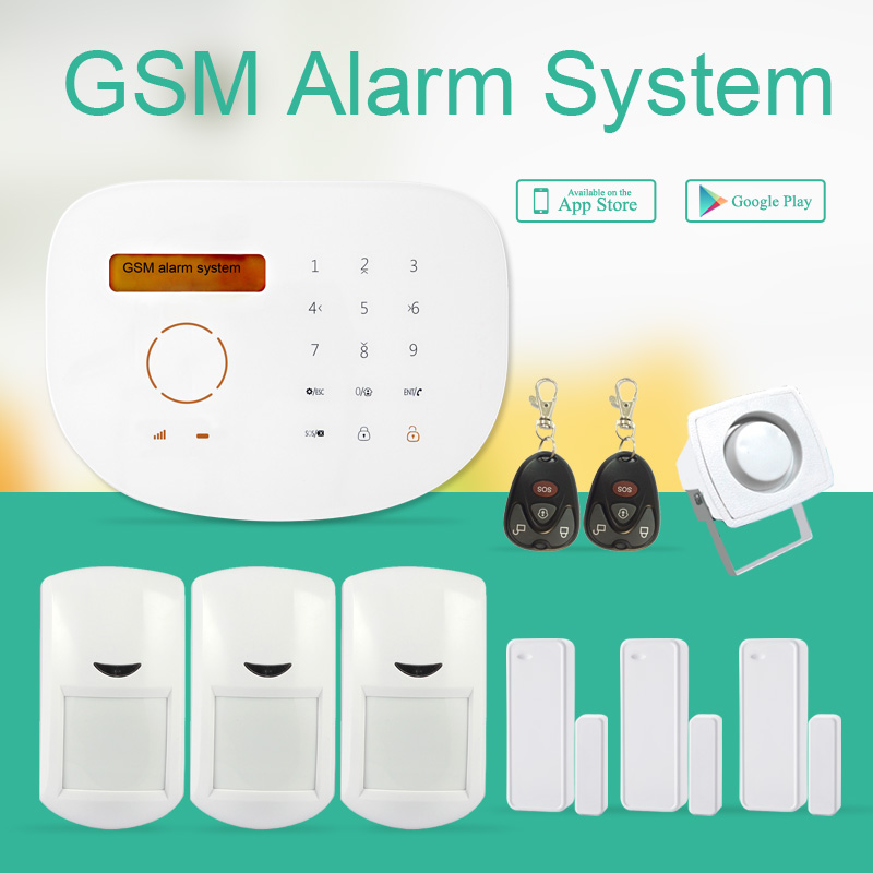 433mhz GSM alarm system with home automation & touchpad RFID GSM security Alarm System built in siren /speaker/microphone adriatica a3146 1213q