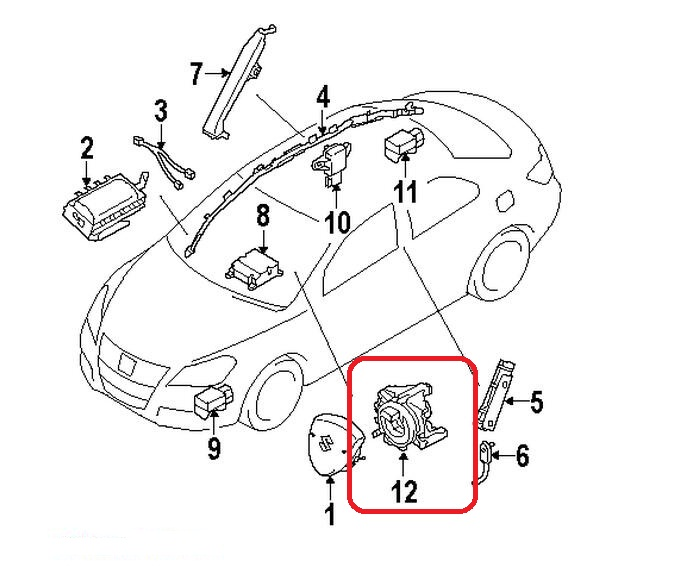 Suzuki Cruise Control Diagram