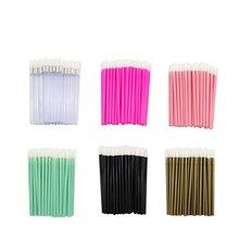 1000pcs/ Pack Lip Gloss Wands Disposable Brush Lipstick Applicators Makeup Tool Multi Colors for Choose