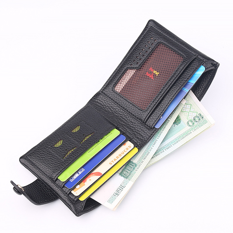 Fashion Men Litchi Grain Wallets Short Mini PU Leather Man Clutch Wallet Simple Design Money Bag Gifts Business Card Purse stainless steel manual push self turning stirrer egg beater whisk mixer kitchen wholesale price