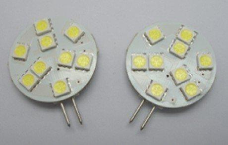 led G4 light bulb,1.8W;9pcs 5050 SMD LED;DC12V input
