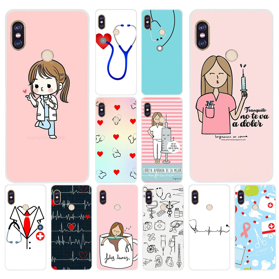 Sunny 022fg Cartoon Medicine Nurse Doctor Dentist Soft Silicone Tpu Cover Phone Case For Xiaomi Redmi 5a 5plus Note 5 5a Pro In Short Supply Half-wrapped Case Cellphones & Telecommunications
