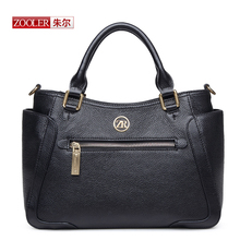 ZOOLER 2017 New Arrival Genuine Leather Bags Woman Handbags Top-Quality Fashion Design Ladies Shoulder Bags Large CapacityD-2258